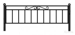 Ограда на кладбище ОГ-07