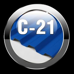 Лист профнастила С-21