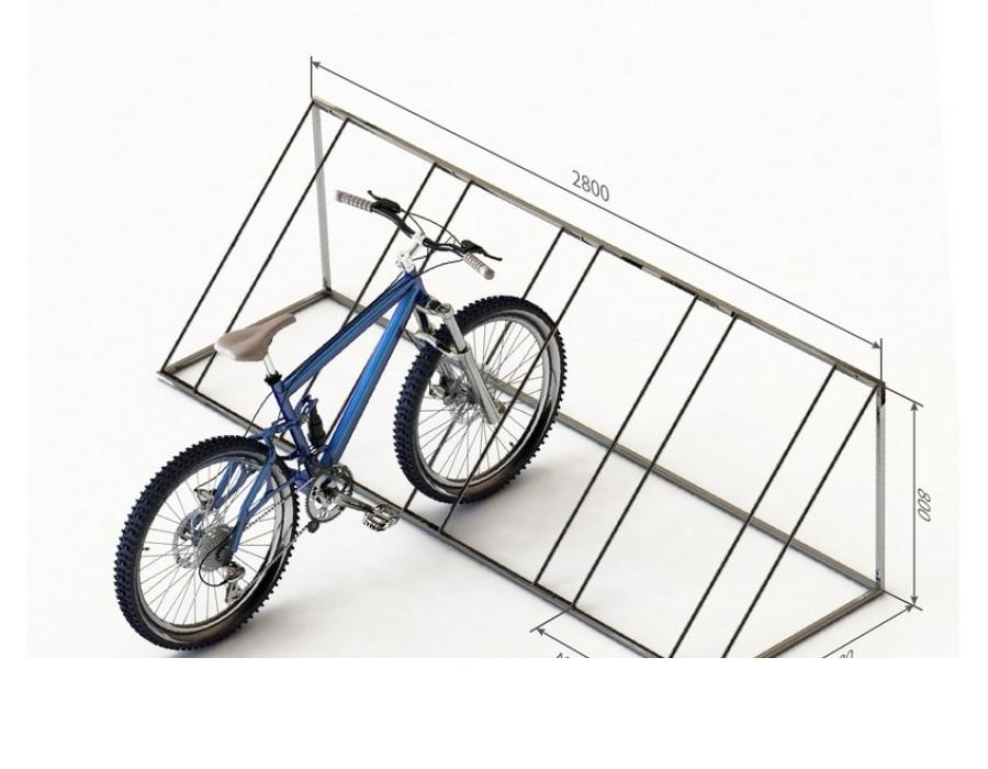 Как сделать парковку для велосипедов своими руками